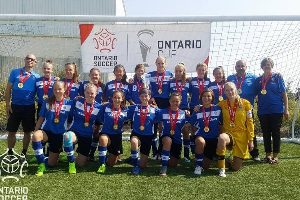 Barrie FC Under 14 Girls Win Ontario Cup!